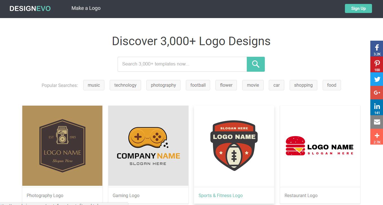 Designevo Free And Dead Easy Online Logo Maker 10techdesign