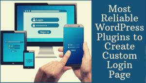 Create Custom Login Page