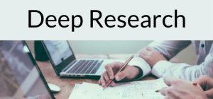 Deep Research