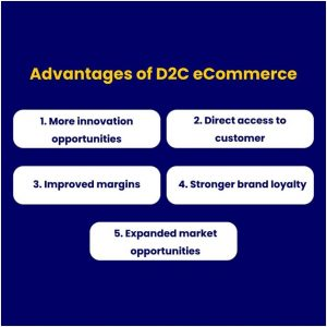 Advantage of D2C eCommerce