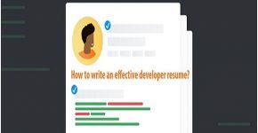 effective developer resume